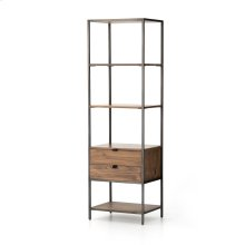 Auburn Poplar Finish Trey Bookshelf