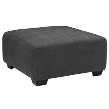 Benchcraft Sorenton Oversized Accent Ottoman in Slate Fabric