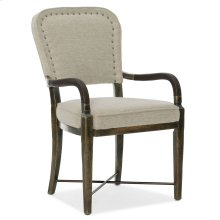 Dining Room Crafted Upholstered Arm Chair