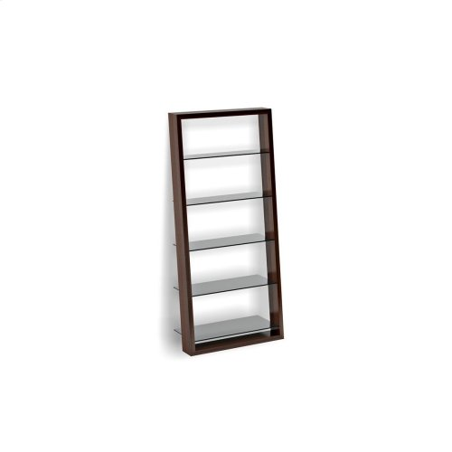 Leaning Shelf 5156 in Chocolate Stained Walnut