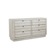 Drawer Dresser - Gray Chalk Finish