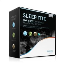 Five 5ided® Pillow Protector with Tencel® + Omniphase ® Queen Pillow Protector