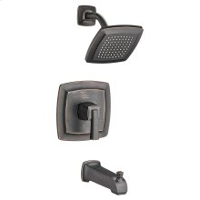 Townsend Bath and Shower Trim Kit with Water-Saving Shower Head - Legacy Bronze