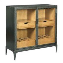 Hidden Treasures Metal Hall Cabinet