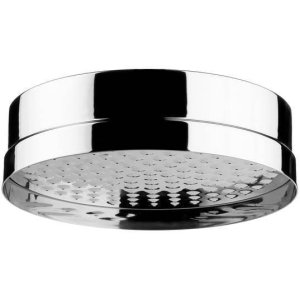 "Non Lacquered Brass 8"" Shower head"