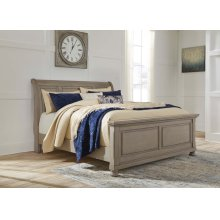 Lettner - Light Gray 3 Piece Bed Set (Cal King)