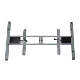 Power Adjustable Desk Base Gray
