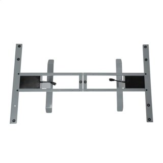 Power Adjustable Desk Base Gray