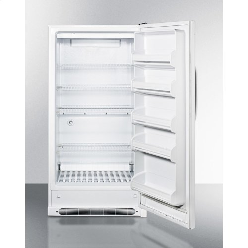 Large Capacity All-refrigerator With Frost-free Operation and Fan-forced Cooling