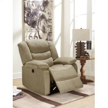 Eden Taupe Power Recliner Chair