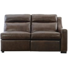 Germain Right Arm Power Motion Loveseat in Mocha (751)