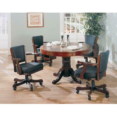 Mitchell Traditional Merlot Game Chair