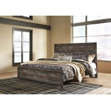 Wynnlow - Gray 2 Piece Bed Set (King)