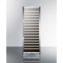 171 Bottle Single-zone Wine Cellar With Glass Door, Digital Thermostat, and Stainless Steel Wrapped Cabinet