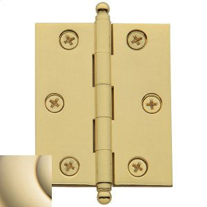Lifetime Polished Brass Cabinet Hinge Product Image