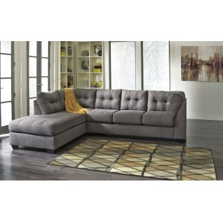 Maier Charcoal Sectional Left