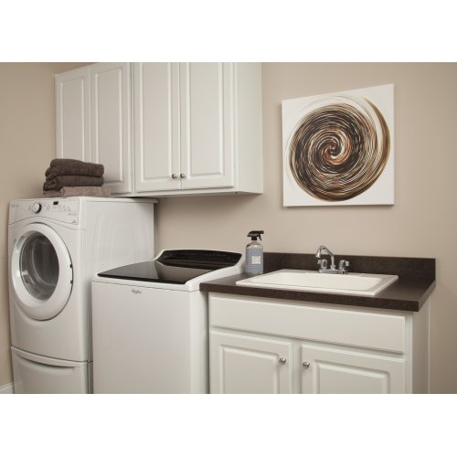 Chrome Two Handle Laundry Faucet