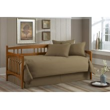 Paramount Daybed Collection Solid Khaki Daybed - Twin