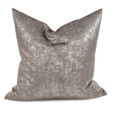 """20"""" x 20"""" Pillow Mousse Pewter - Down Fill"""