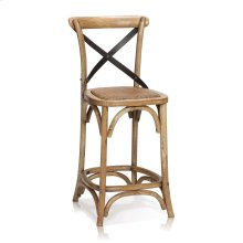 Reva Cross-Back Counter Stool