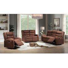 Deana Brown Reclining Sofa