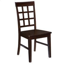 Dining Chair (2/Ctn) - Espresso Finish