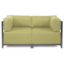 Axis 2pc Sectional Sterling Willow Titanium Frame