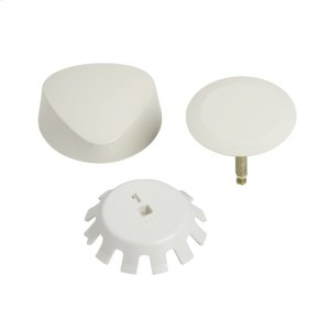 TurnControl Bath Waste and Overflow A dazzling turn Molded plastic - Bone Material - Finish Product Image