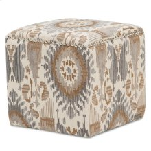 Ashbury Square Accent Ottoman Dst