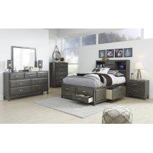 Caitbrook - Gray 5 Piece Bedroom Set