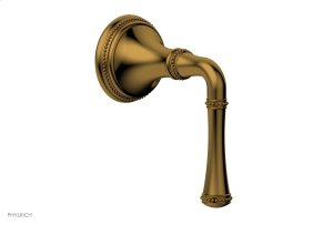 BEADED Volume Control/Diverter Trim -Lever Handle 207-35 - French Brass Product Image