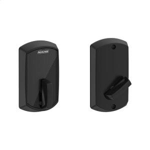 Schlage Control Smart Deadbolt with Greenwich Trim - Matte Black Product Image