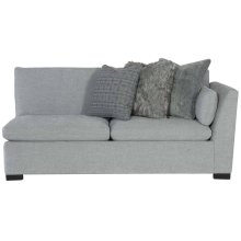 "Serenity Right Arm Loveseat (42-1/2"" D) in Mocha (751)"