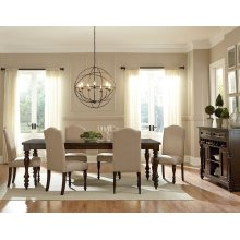"""Palisades Dining Table with 18"""" Leaf"""