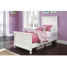 Kaslyn - Multi 3 Piece Bed Set (Twin)