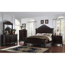 Corinthian Panel Bedroom set