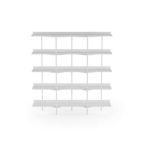 Shelving System 5305 in Satin White Satin White