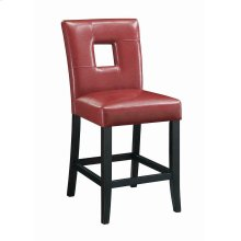 Newbridge Causal Red Counter-height Chair