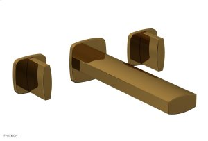 RADI Wall Tub Set - Blade Handles 181-56 - French Brass Product Image