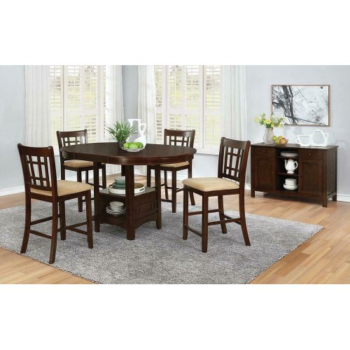 Lavon Transitional Counter-height Storage Table