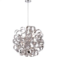Ribbons Chandelier in Polished Chrome
