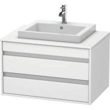 Vanity Unit Wall-mounted, White Matte