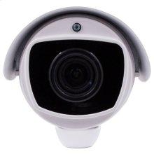 Pan/Tilt/Zoom Bullet Camera White 5X Zoom POE IP 5MP