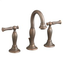 Quentin 2-Handle 8 Inch Widespread High-Arc Bathroom Faucet - Oil Rubbed Bronze