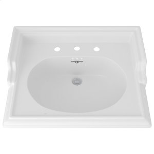 """Perrin & Rowe Victorian 25"""" Sink Product Image"""