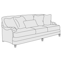 "Tarleton Sofa (86-1/2"") in Brandy (703)"
