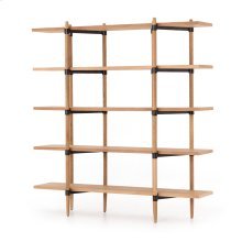 Holmes Bookshelf-smoke Drift Oak