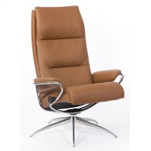 Stressless Tokyo High Back Star Base Chair and Ottoman