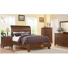 9C Canyon Creek Queen GROUP; QB, Dresser Mirror, Chest