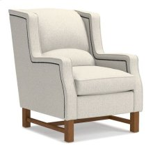 Cosmopolitan Chair w/ Platinum Nail Head Trim